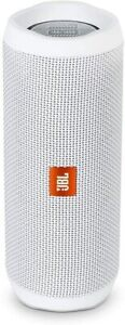 Brand New / Sealed - JBL FLIP 4 Waterproof Portable Bluetooth Speaker - White