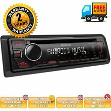 Kenwood KDC-130UR - CD MP3 USB RDS Radio Receiver RED Key Illumination