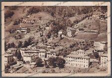 BERGAMO BRANZI 08 MONTANINA Cartolina viaggiata 1948 - DIFETTI !!!