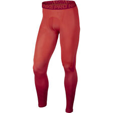 NIKE PRO MEN COMPRESSION TIGHTS SONIC FLOW LARGE NWT UNV RED CRIMSON 743019-696