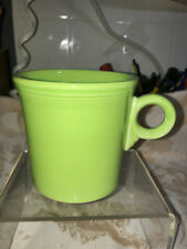 Fiesta ware MUG TOM & GERRY RING HANDLE - Retired Color Never Used-  CHARTREUSE