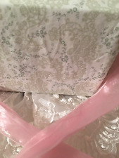 SIMPLY SHABBY CHIC SHEETS FULL SIZE BEACH HOUSE BEDDING NEUTRAL CHIC COLORS ❤️❤️