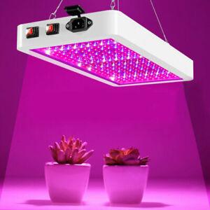 NEW LED Grow Light Hydroponic Full Spectrum Indoor Veg Flower Plant Lamp Panel