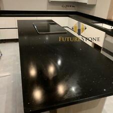 Black Quartz Kitchen Worktop | All colours available! | Sample!