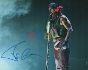 Till Lindemann signed autographed 8x10 photo! Rammstein! RARE! reprint