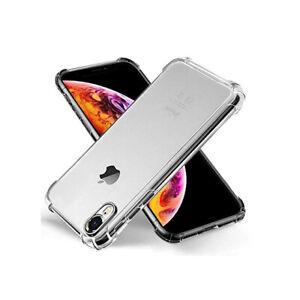Iphone XR Anti Shock Cushion Gel Case - Clear