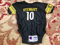 Kordell Stewart #10 Pittsburgh Steelers NFL Champion Newborn Jersey 6-9M Vtg