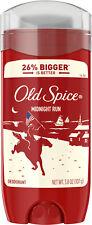 Old Spice Midnight Run Scent Deodorant For Men 3.8 Oz.