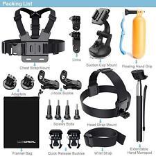 Action Kamera Set Zubehör für Gopro Hero 6 5 4  Session Outdoor Sport Go Pro Cam