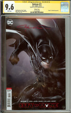*Signed* Batman #77 CGC 9.6 Clayton Crain Death of Alfred
