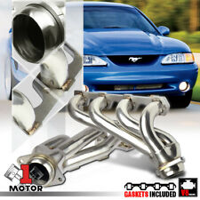 Stainless Steel Shorty Exhaust Header Manifold for 94-95 Ford Mustang 5.0 SN95