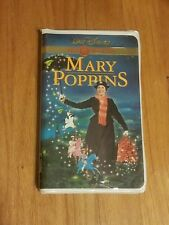 Mary Poppins Disney Gold Collection (VHS, 2000) Rare