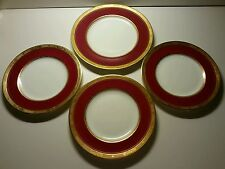 Royal Worcester Diana Maroon Red Gold Encrusted