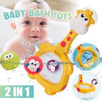 Baby Bath Toys Giraffe Net Fishing Shooting Basket Basketball Hoop Shower Toys