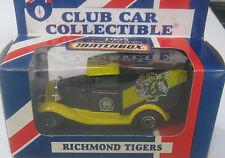 Matchbox 1/64 AFL  Australia  Aussie Rules Richmond Tigers
