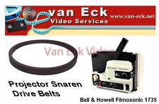 Bell & Howell Filmosonic 1735 - belt (motor)Flat beltNew belt, replacing you