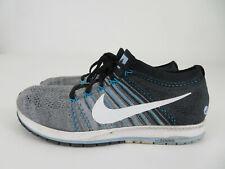 Nike Zoom Flyknit Streak Chicago Marathon Running Shoes Gray Blue Mens Size 9
