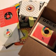 Random 75 Vinyl Record Lot 7� 45 Rock, Pop, Soul, R&B, 60s 70s 80s No Country
