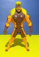 1993 ToyBiz Marvel X-men 10 inch Sabertooth Action Figure Loose