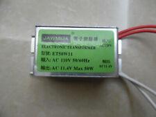 1pc Electronic Transformer Ballast Acin= 110V, Acout= 12V, 11.4 50W Halogen Lamp