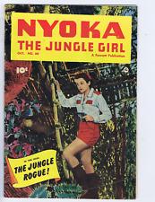 Nyoka the Jungle Girl #60 Fawcett 1951