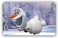 Disney Frozen OLAF 3d Effekt LILA Tischset Platzset Platzdeckchen Tischmatte