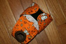Female dog diaper-panties-QUILTED-Washable- FALL WITH SNOOPY by angelpuppi