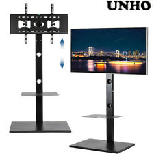 "Unho Tv Floor Stand for 32"" to 65"" Flat Panel Led Lcd Screens Height Adjustable"