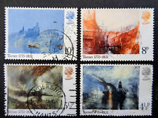 GREAT BRITAIN #736-739 used 1975 Turner paintings set. We combine shipping