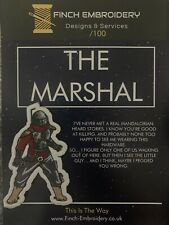 More details for mandalorian the marshal morale patch official velcro® backing limited edition