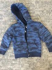 BOYS BLUE FLEECE JACKET, Size Xs(4)