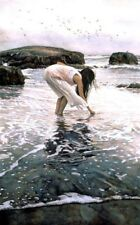 Steve Hanks Conferring With The Sea  S/N lithograph