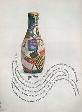 ▬► PUBLICITE ADVERTISING AD PERRIER EAU GAZEUSE 1970