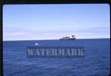 May 1970 kodachrome photo slide  ship SS Rotterdam Ponta Delgado Azores Portugal