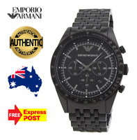 Emporio Armani AR5989 Sportivo Men's Black Stainless Steel Chronograph Watch