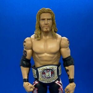 WWE Custom Wrestling Belts - Mattel - Edge Rated-R Spinner Belt