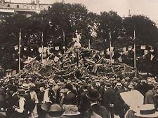 LIBERATION DE PARIS lot 15 PHOTOS 14 Juillet 1919 Char Guerre