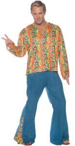 Boogie Down Adult Men's Costume Hippie 60s 70s Bell Bottoms Halloween