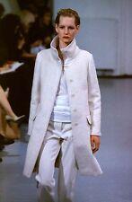 Helmut Lang Vintage 'OG' AW 1997 97 Funnel Neck Brushed Wool Coat IT 40 2-4 S