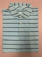 NEW Peter Millar - Golf Polo Shirt - Seaside Wash Stripes - SIZE: XL
