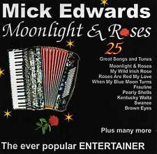 Accordion & Vocal CD Moonlight and Roses by Mick Edwards.