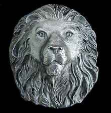 AWESOME 3D LION HEAD BELT BUCKLE KING OF THE BEASTS  NEW! MADE IN AMERICA