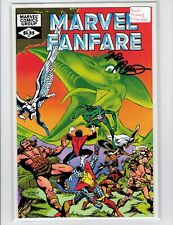 Marvel Fanfare #3 1982 Signed by Bob McLeod Chris Claremont Story