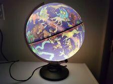 Scan-Globe Lighted Celestial Globe of Denmark Astrological Signs, Constellations