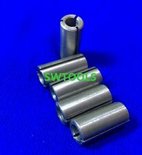 Lot 5pcs 1/2-6 12.7-6mm wood engraving machine collet chuck adapter sleeve hole
