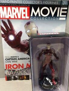 Marvel Movie Collection #31 Iron Man Mark Xlvi Figurine Eaglemoss Engl. Magazine
