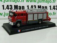 PDP25N 1/72 DEL PRADO Pompiers du Monde : FMOGP IVECO Annie 1998
