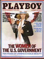 Playboy Magazine-November 1980-Jeana Tomasino centerfold