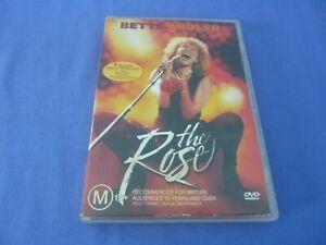 The Rose DVD Bette Midler Alan Bates Frederic Forrest R4 Free Postage