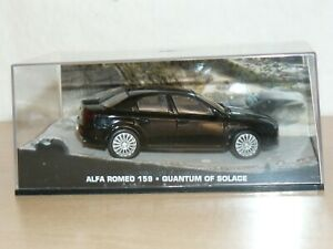 007 James Bond Coche ALFA ROMEO 159 Quantum of Solace 1:43 scale die cast car